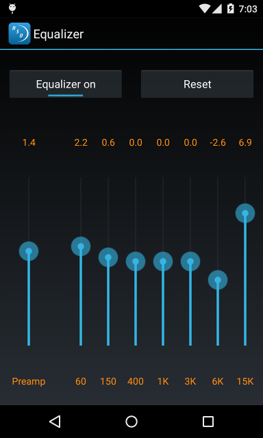 Amazing slow downer for android amazing slow downer android dsp settings voltagebd Images